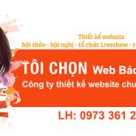 Thiết kế website hội thảo, hội nghị, tổ chức liveshow chuyên nghiệp