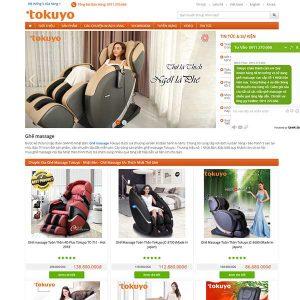 Mẫu Website Bán Ghế Massage WBT1326