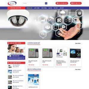 Mẫu Website Công Nghệ Đan Phượng DPTech WBT1315