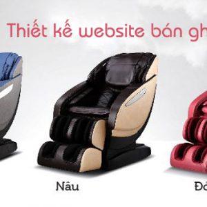 Thiết Kế Website Bán Ghế Massage