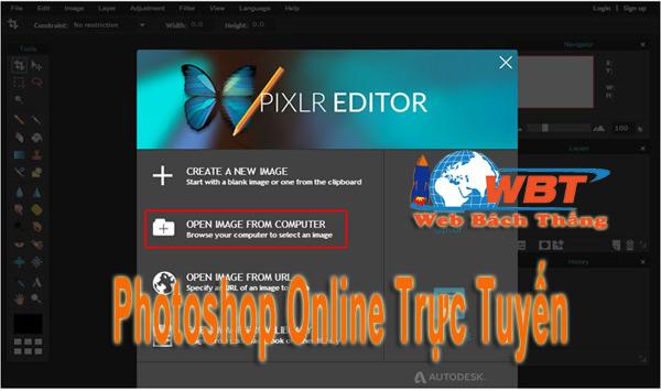 Photoshop Online Free Tiếng Việt Miễn Phí Công Cụ Tiện Ích Dễ Dùng