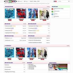 Mẫu Website đọc Truyện WBT1371
