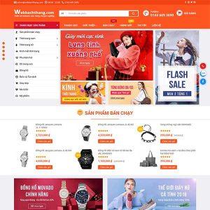 Mẫu Website Bán Hàng Thời Trang, điện Máy, Gia Dụng WBT211