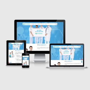 Mẫu Website Phòng Khám Nha Khoa, Bệnh Viên WBT212