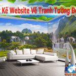 Dịch Vụ Thiết Kế Website Vẽ Tranh Tường Đẹp Uy Tín