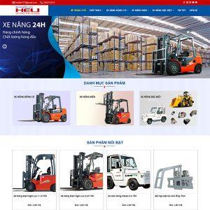 Mẫu Website Xe Nâng Heli WBT1390