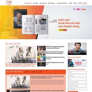 Mẫu Website Tư Vấn Doanh Nghiệp WBT1393