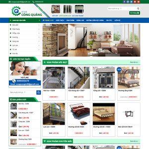 Mẫu Website Cơ Khí WBT1400