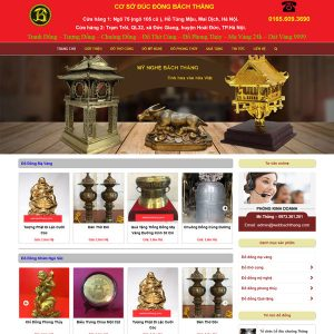 Mẫu Website Thủ Công Mỹ Nghệ WBT232