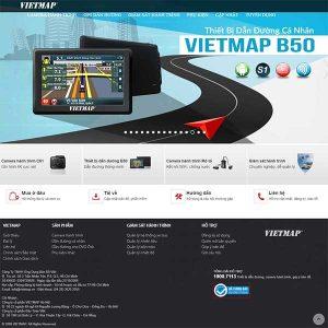 Mẫu Website Camera Hành Trình WBT1404