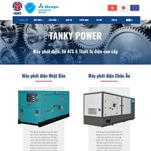 Mẫu Website Doanh Nghiệp WBT1411