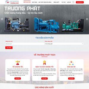 Mẫu Website Thiết Bị điện Trường Phát Tech WBT 1423